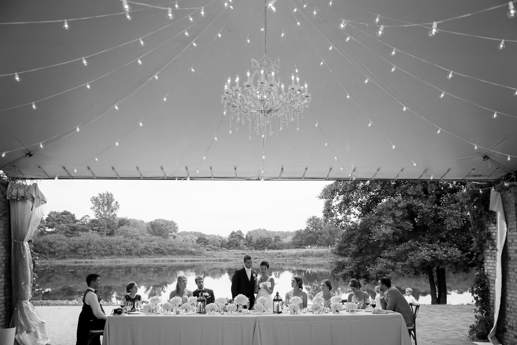 Elegant_Event_Lighting_Chicago_Botanic_Gardens_Wedding_Cafe_Globe_String_Lighting_Crystal_Chandelier_Head_Table