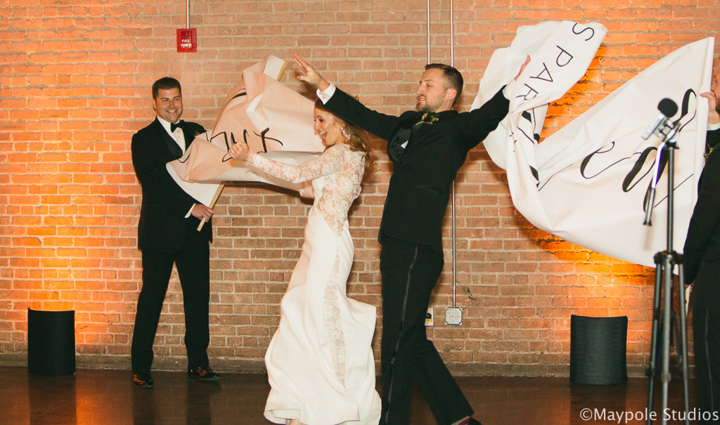 Elegant_Event_Lighting_Morgan_Manufacturing_Chicago_Wedding_Banner_Just_MArried