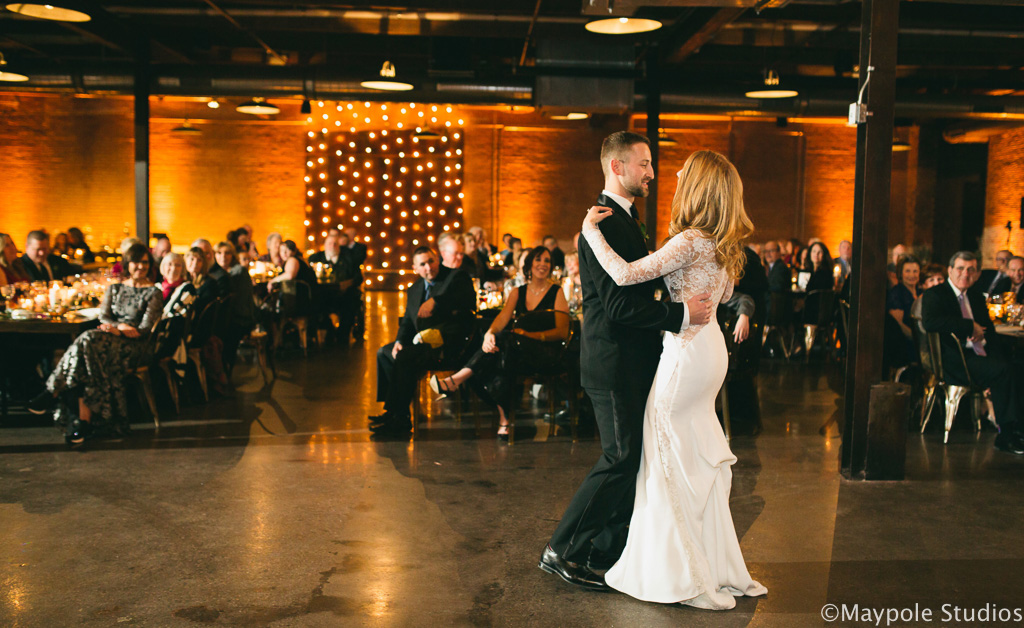 Elegant_Event_Lighting_Morgan_Manufacturing_Chicago_Wedding_First_Dance_Amber_Uplighting_Vertical_Cafe_Lighting
