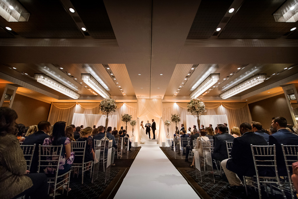 Elegant_Event_Lighting_Hotel_Arista_Naperville_Wedding_Ceremony_Lighting_Draping_Ivory_Amber_Uplighting_Chuppah_Canopy_Aisle_Runner