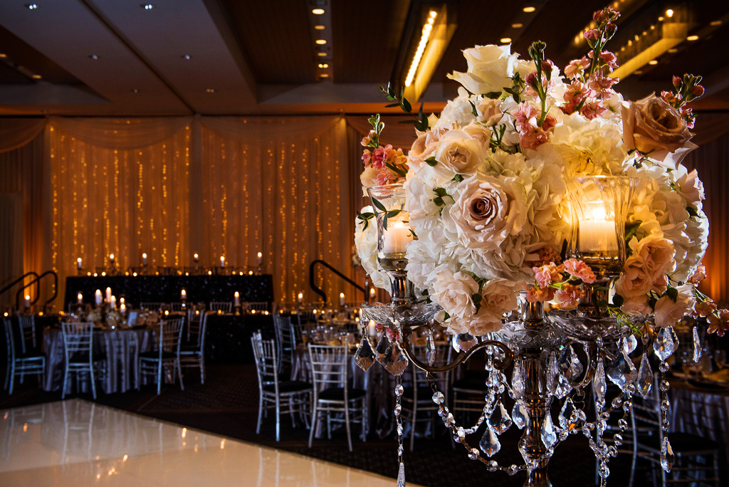 Elegant_Event_Lighting_Hotel_Arista_Naperville_Wedding_Ppin_Beam_Flower_Lighting_Fairy_Light_Backdrop