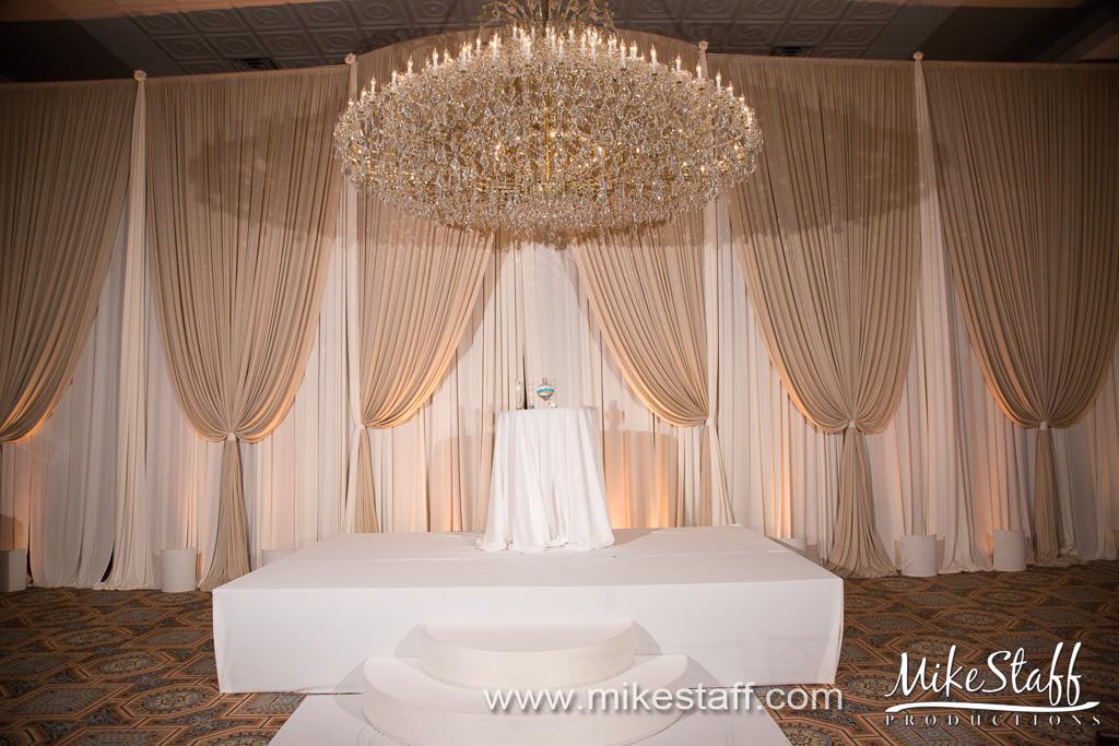 Elegant_Event_Lighting_Drury_Lane_Oak_Brooke_Terrace_Chicago_Wedding_Stage_Cover_Moon_Steps_Backdrop_Campagne_Amber_Ivory